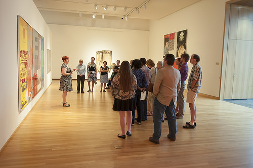 Gallery tour: Duke Couples in Dialogue on Rauschenberg and Artists in the Collection