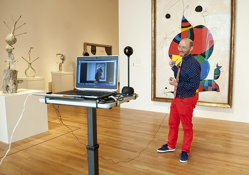 Google Hangout with Curator Marshall Price