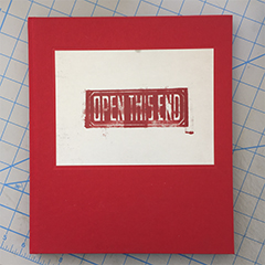 Open This End catalogue