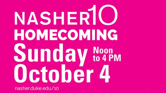 Nasher10 Homecoming