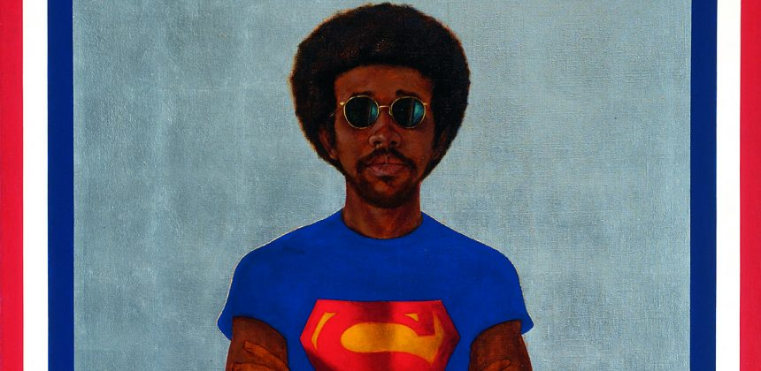 Barkley L. Hendricks, Icon for My Man Superman (Superman never saved any black people – Bobby Seale), 1969.