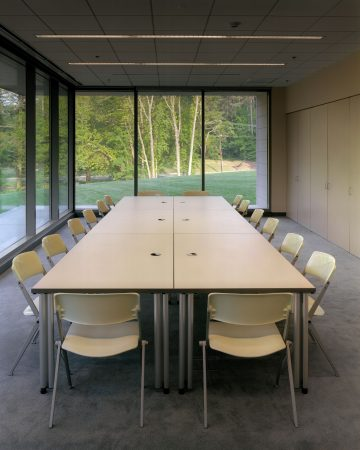 The Nasher's University Classroom, interior view. Photos © Brad Feinknopf 2005.