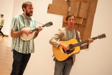 Musicians enhance a Reflections Tour.