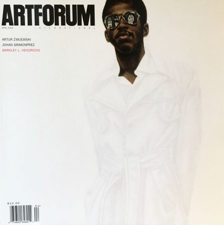 """Figures and Grounds: The Art of Barkley L. Hendricks,"" an essay by Huey Copeland, landed the Aprill 2009 issue of Artforum magazine."