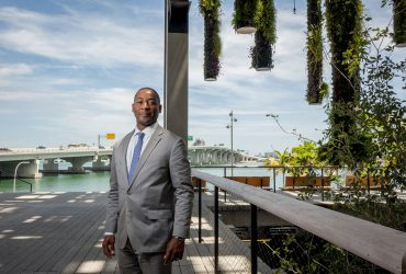 PAMM Director Franklin Sirmans at Pérez Art Museum Miami. Photo by Angel Valentin. Courtesy Pérez Art Museum Miami.