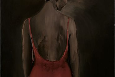 Lynette Yiadom-Boakye, Places to Love For, 2013. Oil on canvas, 59 x 47¼ inches (149.9 x 120 cm). © Lynette Yiadom-Boakye. Courtesy of the artist, Jack Shainman Gallery, New York, and Corvi-Mora, London.
