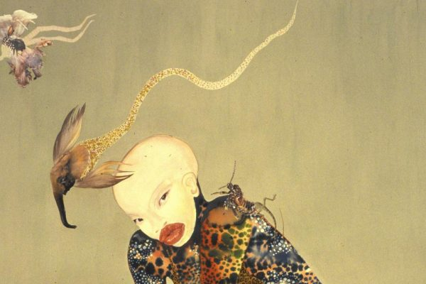 "Wangechi Mutu, ""Riding Death in My Sleep"" (2002) (Wangechi Mutu)"