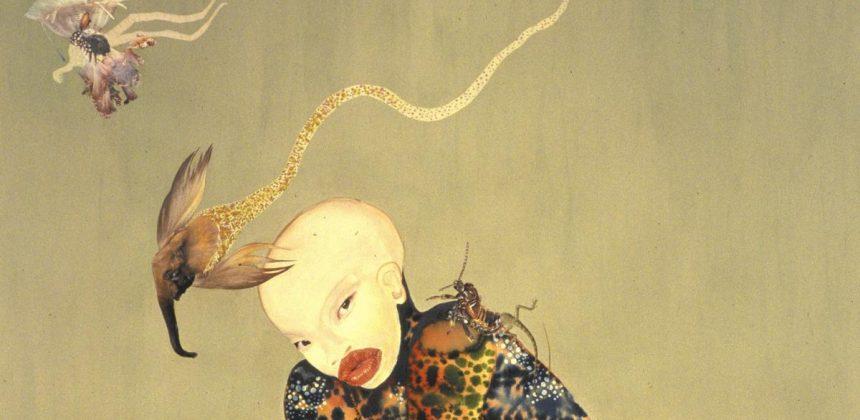 """Wangechi Mutu, """"Riding Death in My Sleep"""" (2002) (Wangechi Mutu)"""
