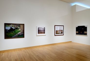 Installation view; Burk Uzzle: Southern Landscapes; May 28–September 25, 2016. Nasher Museum of Art at Duke University. Photo by Peter Paul Geoffrion.