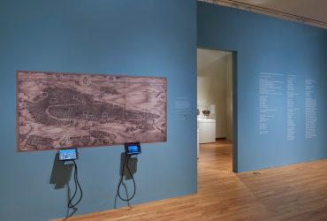 Installation view; A Portrait of Venice: Jacopo de' Barbari's View of 1500; September 7–December 31, 2017. Nasher Museum of Art at Duke University. Photo by Peter Paul Geoffrion.