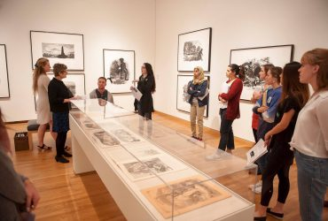 Student Brittany Carlson discuss Kara Walker: Harper's Pictorial History of the Civil War (Annotated)