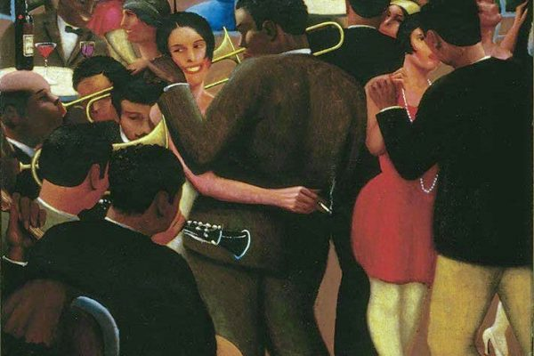 Blues (1929), Archibald J. Motley Jr. Collection of Mara Motley, MD, and Valerie Gerrard Browne. Image courtesy of the Chicago History Museum, Chicago, Illinois. © Valerie Gerrard Browne