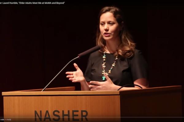 Keynote Speaker: Laurel Humble, Older Adults Meet Me at MoMA and Beyond
