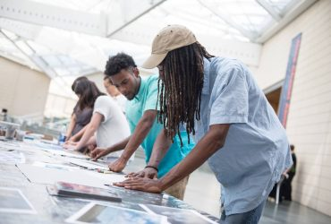 Nasher Creates with local artist Damian Stamer