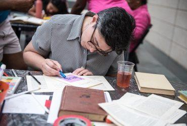 Nasher Creates with local artist Chris Vitiello