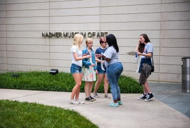 Nasher Teens greet area teens to the museum