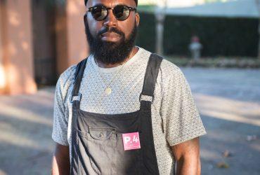 P.4 artist Derrick Adams. Photo by J Caldwell.