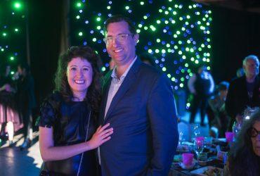 Miranda Lash and Jim Mulvihill at the P.4 Swamp Galaxy Gala. Photo by J Caldwell.