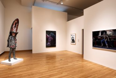 Installation view; All Matterings of Mind: Transcendent Imagery From the Contemporary Collection; March 2–August 27, 2017; Nasher Museum of Art at Duke University. Photo by Peter Paul Geoffrion.