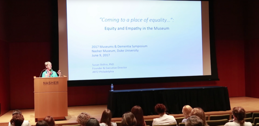 Keynote Speaker: Susan Shifrin, Coming to a Place of Equality, Empathy and Equity in the Museum