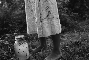 Deborah Luster, Septima with Tadpoles from the Lost Roads Project, 1993. Gelatin silver print, artist's proof 2/2; 30 x 30 inches (76.2 x 76.2 cm). Courtesy of the artist and Arthur Roger Gallery, New Orleans, Louisiana. © Deborah Luster.