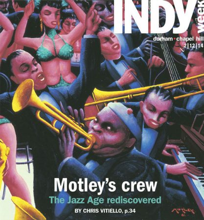 Archibald Motley: Jazz Age Modernist landed the cover of INDYweek, with a thoughtful and nuanced review by Chris Vitiello.