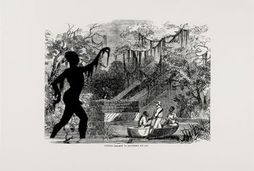Kara Walker, Harper's Pictorial History of the Civil War (Annotated), 2005. Portfolio of 15 prints. Offset lithography and silkscreen, 39 x 53 inches. Collection of the Nasher Museum. Purchase with funds provided by Monica M. and Richard D. Segal, the Neely Family, and Barbra and Andrew Rothschild.