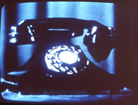 Christian Marclay, Telephones (still), 1995. Video (color, sound), 7:30 minutes. Collection of the Nasher Museum. Gift of Christian Marclay and Paula Cooper.