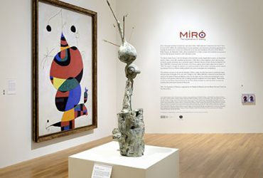 Entrance to the exhibition Miro: The Experience of Seeing. Photo by Peter Paul Geoffrion.