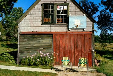 Bill Bamberger, Retired couple's garage, Franklin, Maine