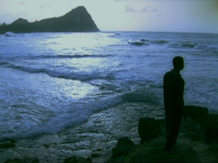 Isaac Julien, Encore (Paradise Omeros: Redux)(still) from the suite Point of View: An Anthology of the Moving Image, 2003. Video (color, sound); 4:38 minute loop. Collection of the Nasher Museum. Museum purchase. ©Isaac Julien. Courtesy of the artist and Metro Pictures, New York.