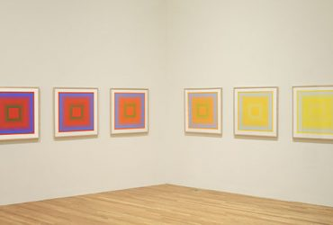 Installation view of Colour Correction: British and American Screenprints, 1967-75 . Photo by Peter Paul Geoffrion.