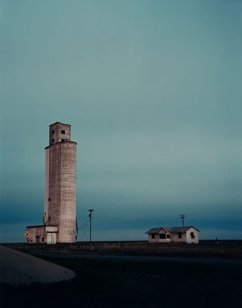 MJ Sharp, Outside Amarillo, 2006 (printed 2012). Chromogenic print, 50 x 40 inches (127 x 101.6 cm). Collection of the Nasher Museum. Gift of Frank Konhaus, Ellen Cassilly and the Cassilhaus Collection.