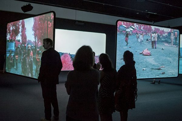 "Richard Mosse's video ""The Enclave"" highlights the experiences of those living in war-torn countries."