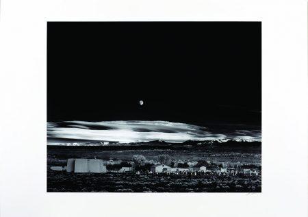 Ansel Adams, Moonrise, Hernandez, New Mexico, 1941.