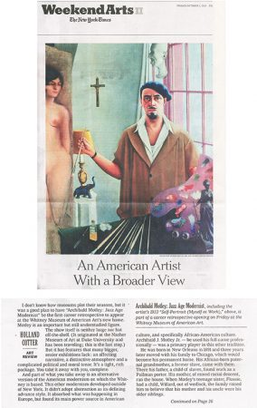 NYT art critic Holland Cotter reviewed Archibald Motley