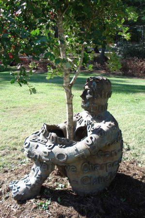 Jaume Plensa, The Heart of Trees