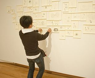 Artist Taiyo Kimura. Photo by J Caldwell.