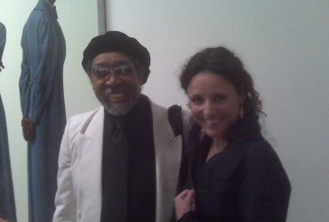 Barkley L. Hendricks and Julia Louis-Dreyfus. Photo by Wendy Hower.
