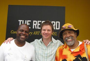 David Bailey, Trevor Schoonmaker and Barkley L. Hendricks. Photo by J Caldwell.