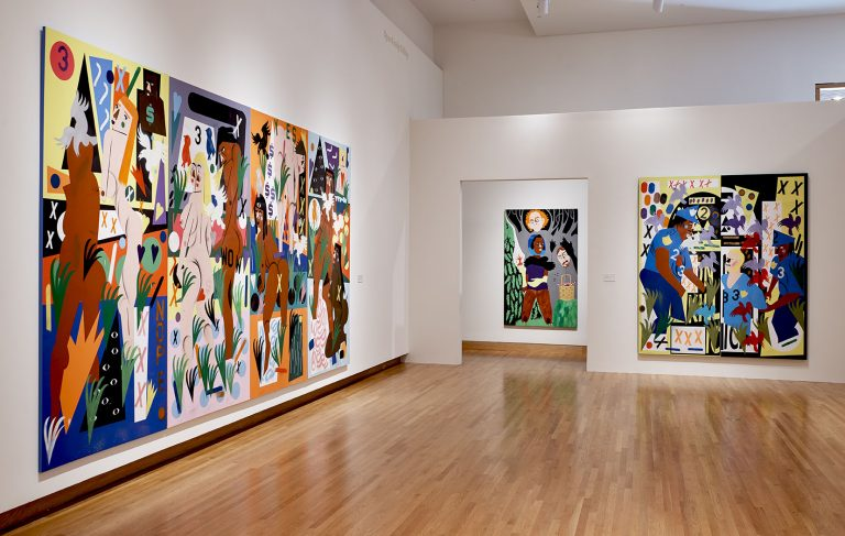 Installation View Of Nina Chanel Abney Royal Flush Photo By Peter Paul Geoffrion