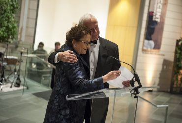 Gala 2016: Honoring President Richard H. Brodhead. Nancy Nasher delivers a sentimental speech about Brodhead's support of the museum for well over a decade.