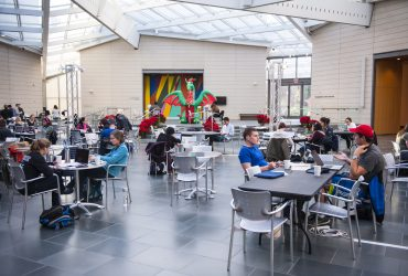 The museums opens its doors exclusively for Duke students on two Mondays per year, for a space to study and enjoy snacks. Photo by J Caldwell.