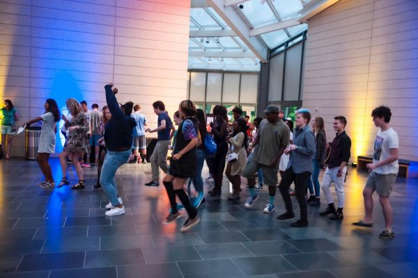 The Teen IMPACT party at the Nasher is a blast!