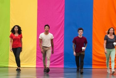 This Land Is Your Land by Seattle choreographer Mark Haim. Photo by J Caldwell.