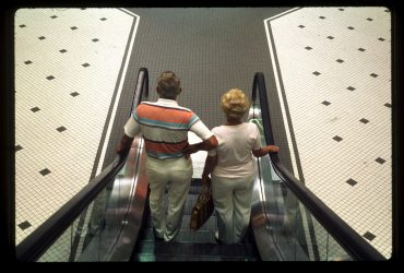 Michael Galinsky, Escalator from the series Malls Across America, 1989 (printed 2018).