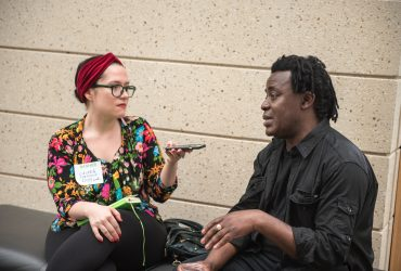 Indy Week writer Laura Jaramillo interviews artist/filmmaker John Akomfrah
