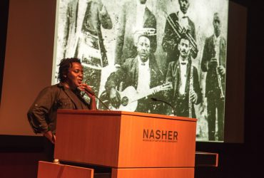 John Akomfrah delivers the Annual Rothschild Lecture