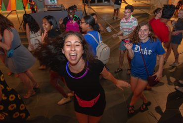 Duke Students dance the night away. Photo by Megan Mendenhall.