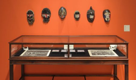 Fred Wilson, Colonial Collection (detail), 1990. Mixed media. Collection of the Nasher Museum. Museum Purchase. Pace Gallery, New York. Photo by Peter Paul Geffrion. © Fred Wilson.